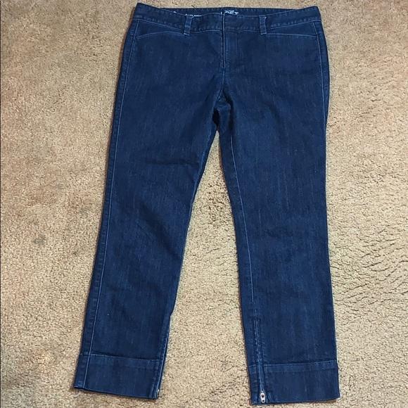 Ann Taylor Other - Ann Taylor Loft Women Modern Crop Jeans Size 8